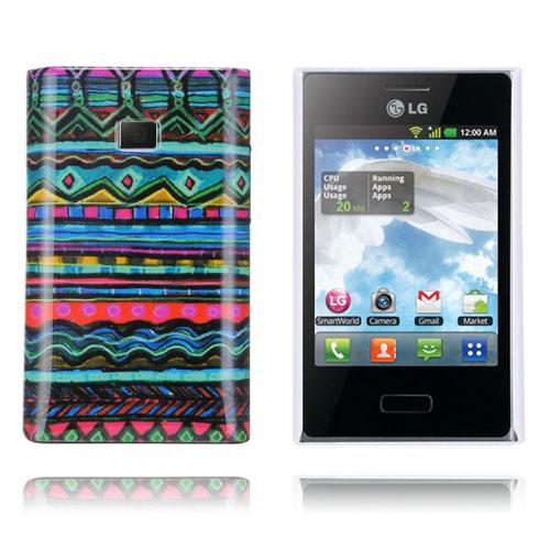 Optical (Cyan) LG Optimus L3 Skal