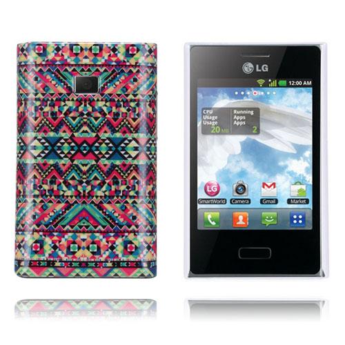 Optical (Färgglad) LG Optimus L3 Skal