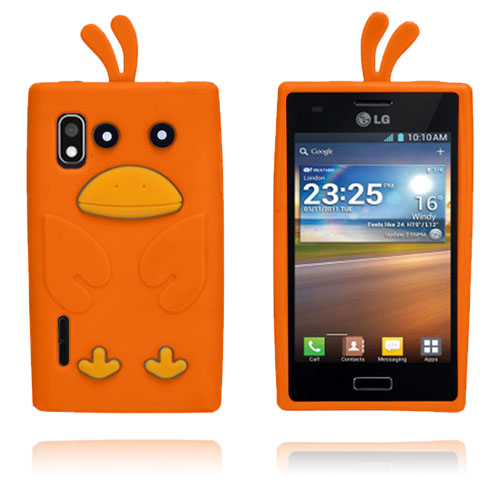 Anka (Orange) LG Optimus L5 Skal
