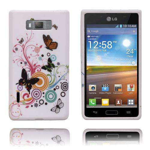 Symphony (Tre Fjärilar) LG Optimus L7 Skal