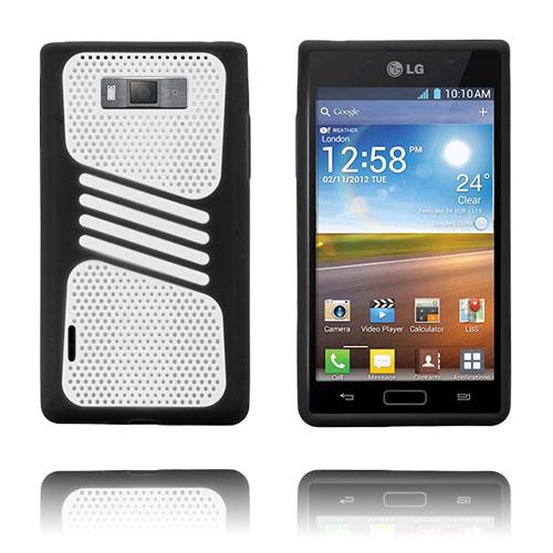 Atlantic (Svart) LG Optimus L7 Skal