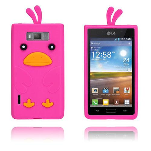 Anka (Het Rosa) LG Optimus L7 Silikonskal