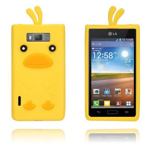 Anka (Gul) LG Optimus L7 Silikonskal