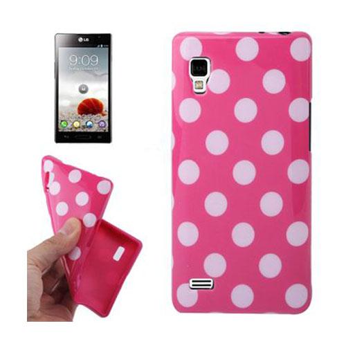 Polka Dots (Rosa) LG Optimus L9 Skal