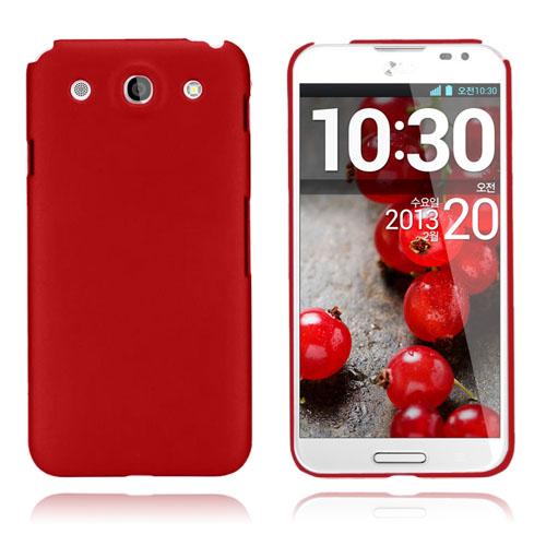 Smooth (Röd) LG Optimus G Pro Skal