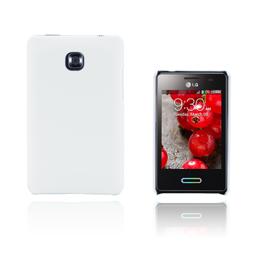 Hard Shell (Vit) LG Optimus L3 II Skal