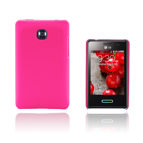 Hard Shell (Knallrosa) LG Optimus L3 II Skal