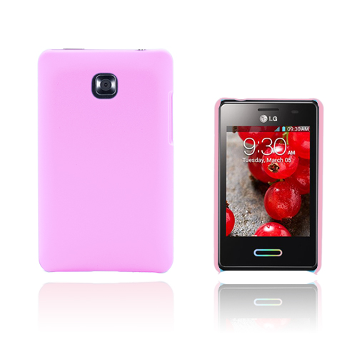 Hard Shell (Rosa) LG Optimus L3 II Skal