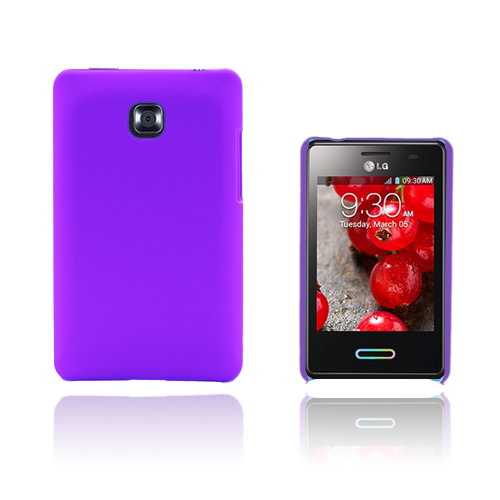 Hard Shell (Lila) LG Optimus L3 II Skal