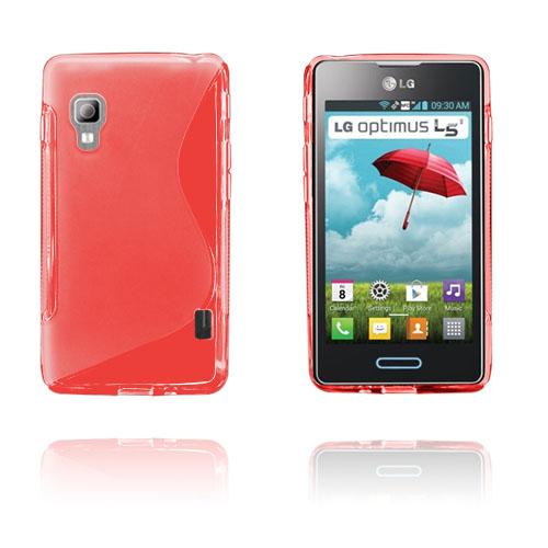 S-Line (Röd) LG Optimus L5 II Skal