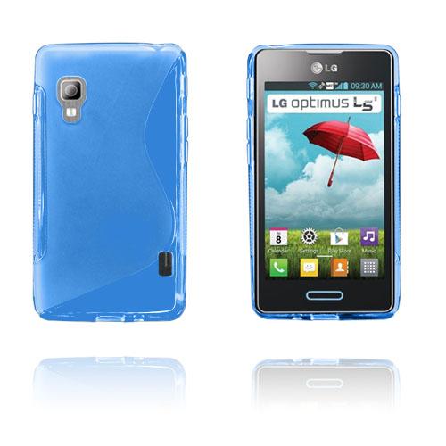 S-Line (Blå) LG Optimus L5 II Skal