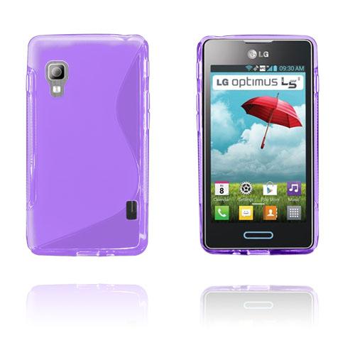 S-Line (Lila) LG Optimus L5 II Skal