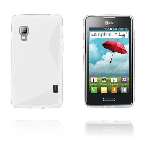 S-Line (Vit) LG Optimus L5 II Skal