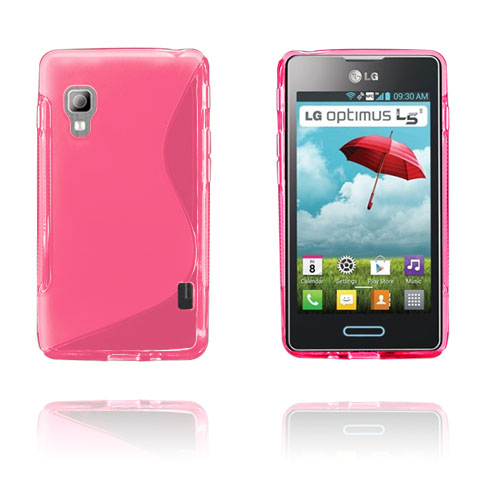 S-Line (Rosa) LG Optimus L5 II Skal
