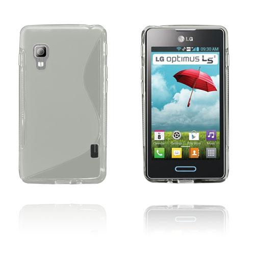 S-Line (Grå) LG Optimus L5 II Skal
