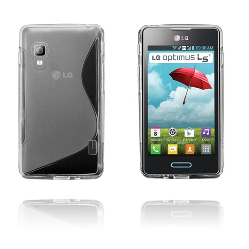 S-Line (Transparent) LG Optimus L5 II Skal