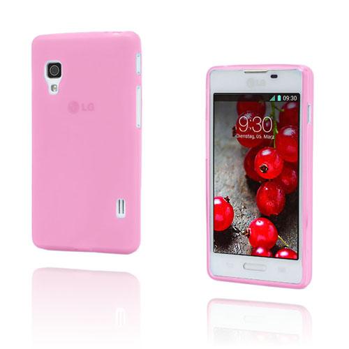 GelCase (Rosa) LG Optimus L5 II Skal