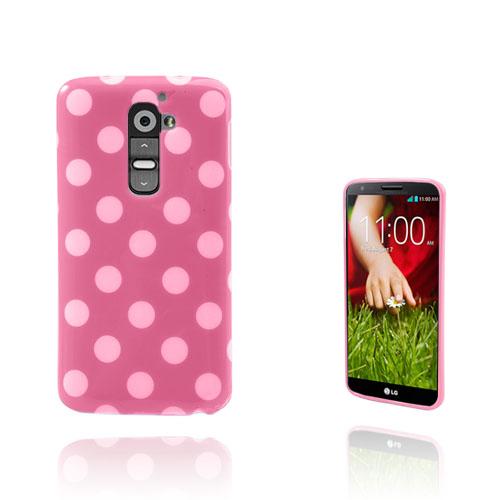 Polka Dots (Rosa) LG G2 Skal