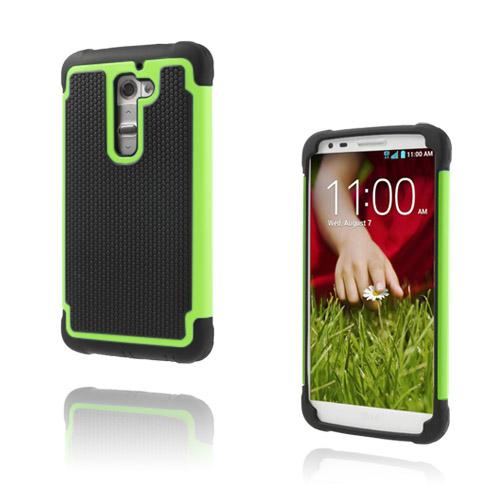 Impact (Grön) LG G2 Ultra-Safe Skal