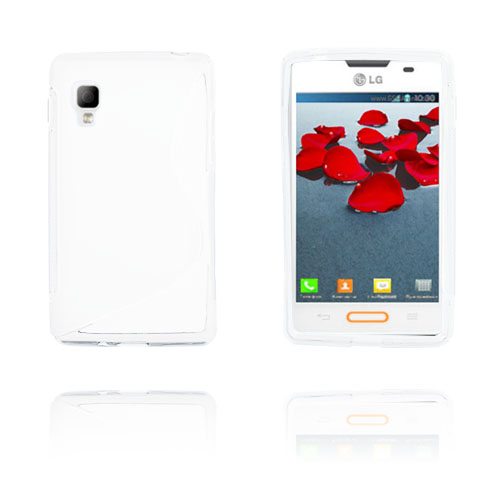 S-Line (Vit) LG Optimus L4 II Skal