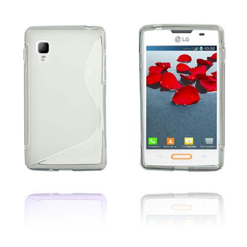 S-Line (Grå) LG Optimus L4 II Skal