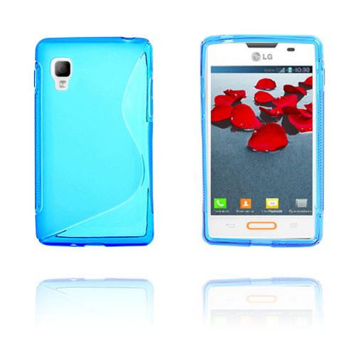 S-Line (Blå) LG Optimus L4 II Skal