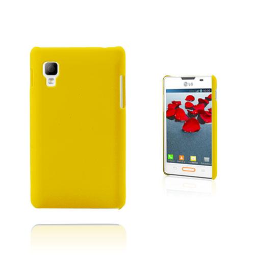 Hard Shell (Gul) LG Optimus L4 II Skal