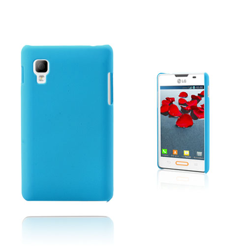 Hard Shell (Ljusblå) LG Optimus L4 II Skal