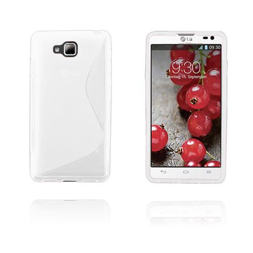 S-Line (Vit) LG Optimus L9 II TPU Skal