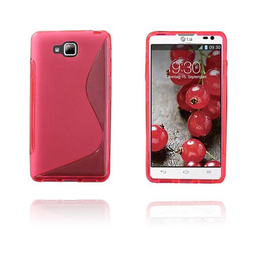 S-Line (Rosa) LG Optimus L9 II TPU Skal