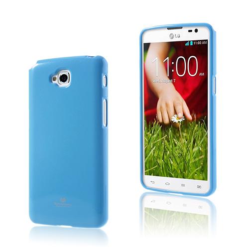 Glitter (Ljusblå) LG G Pro Lite Skal