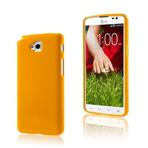 Glitter (Orange) LG G Pro Lite Skal