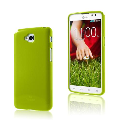 Glitter (Grön) LG G Pro Lite Skal