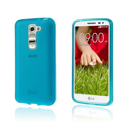 Soft Shell (Ljusblå) LG G2 Mini Skal