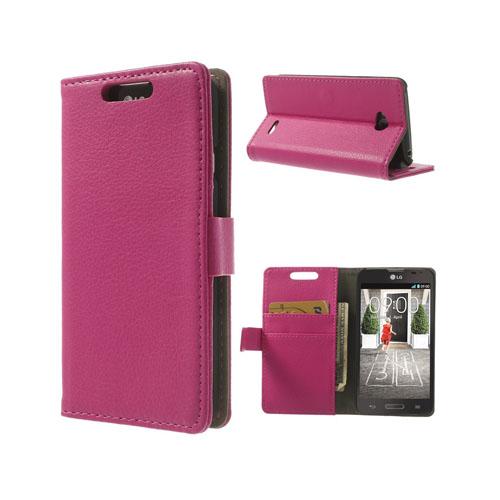 Wall Street (Rosa) LG L70 Läderfodral