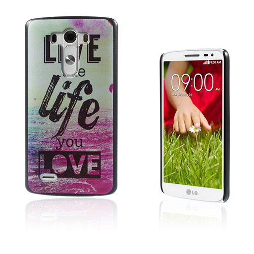 Persson (Live The Life) LG G3 Skal