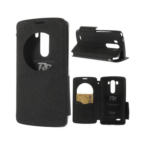 Freestyle (Svart) LG G3 Flip-Fodral