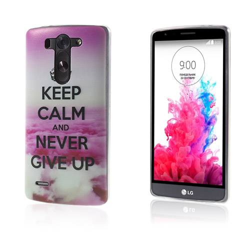 Westergaard LG G3 S Skal – Never Give Up