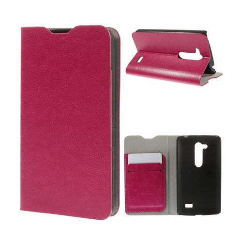 Amdrup LG L Fino Läder Flip Fodral – Het Rosa
