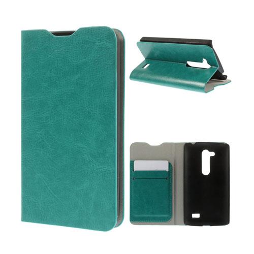 Amdrup LG L Fino Läder Flip Fodral – Grön