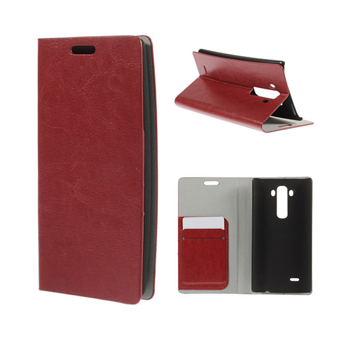 Mankell (Röd) LG G Flex2 Fodral med Plånbok