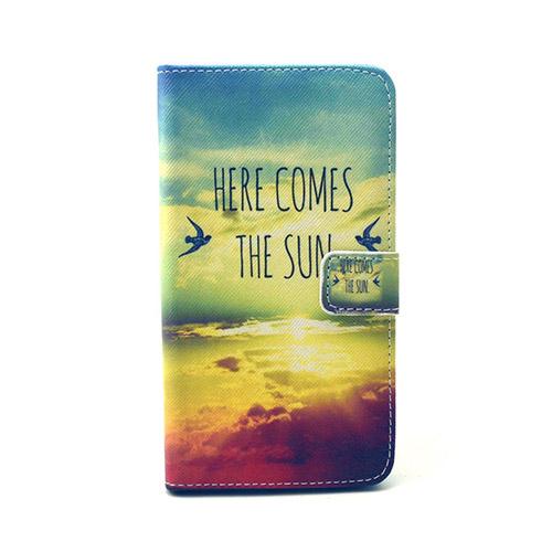 Moberg LG G4 Fodral med Plånbok – Flygande Fåglar & Sol