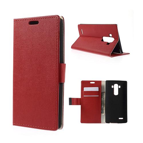 Mankell LG G4 Stativ med Plånbok – Röd