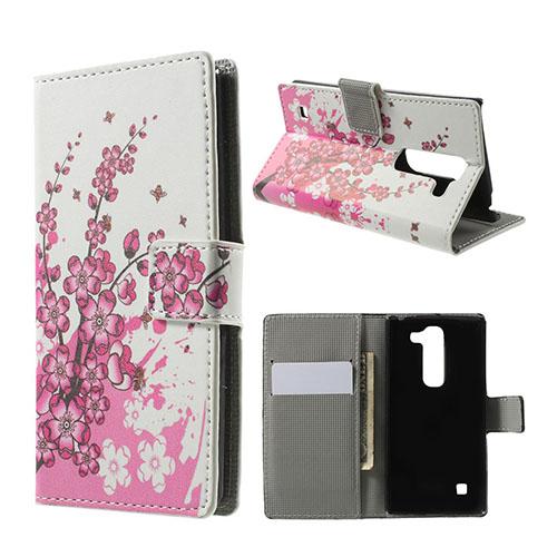 Moberg LG Spirit Fodral med Plånbok – Rosa Blommor