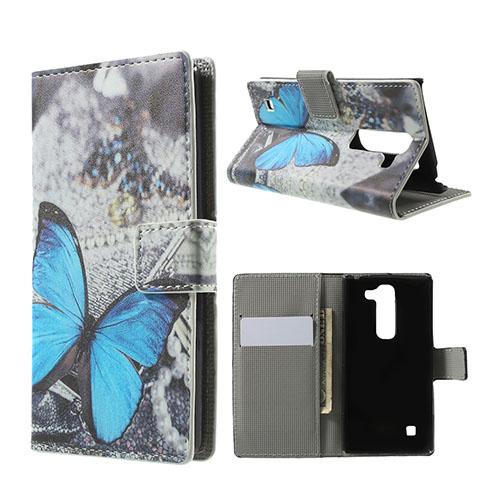 Moberg LG Spirit Fodral med Plånbok – Blå Fjäril