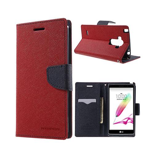 MERCURY Goospery LG G4 Stylus Fodral – Röd