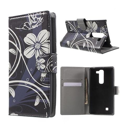 Moberg LG G4c Fodral med Plånbok – Vita Blommor