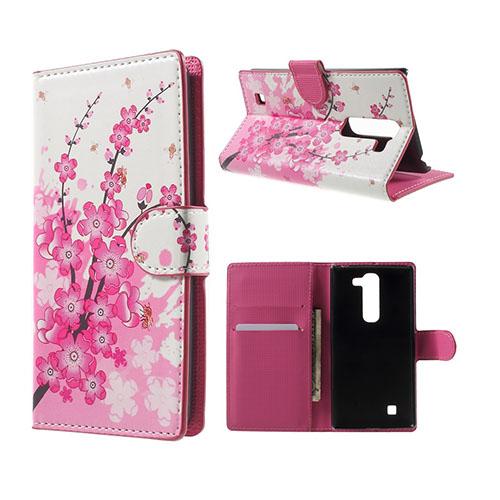 Moberg LG G4c Fodral med Plånbok – Plommonblomster