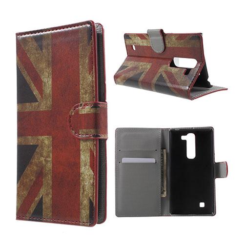Moberg LG G4c Fodral med Plånbok – UK Flagga