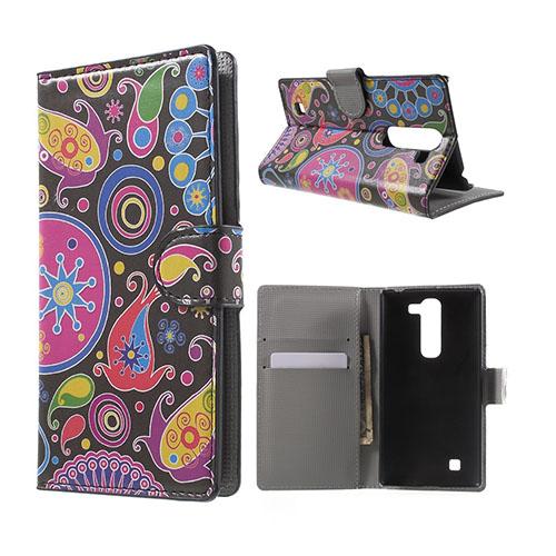 Moberg LG G4c Fodral med Plånbok – Paisley Blommor